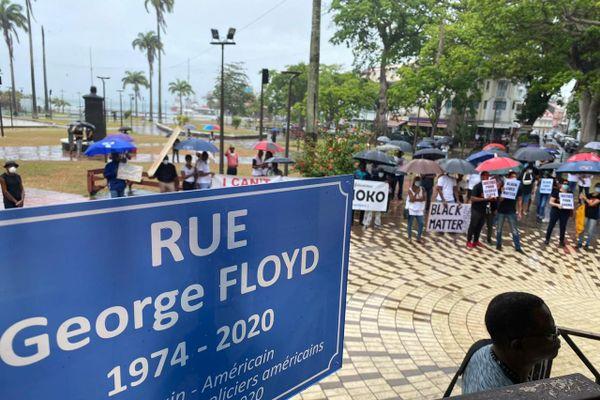 Rue George Floyd