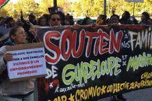 Marche à Paris en solidarité avec les peuples de Guadeloupe et de Martinique