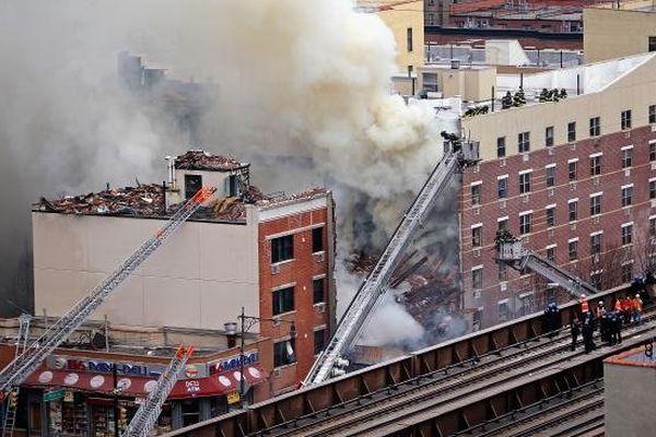 New york effondrement immeuble 2