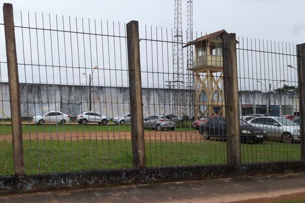L'enceinte de la prison de Macapa (IAPEN)