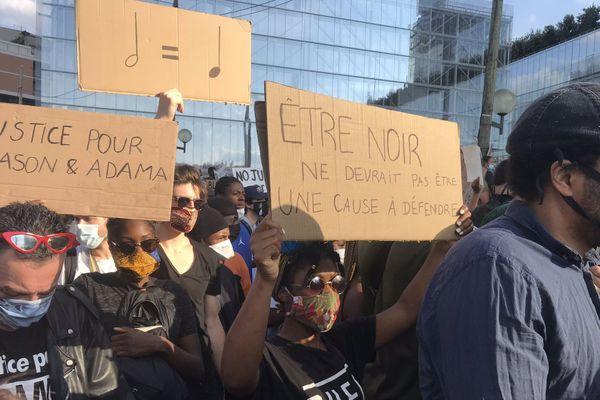 Manif paris racisme