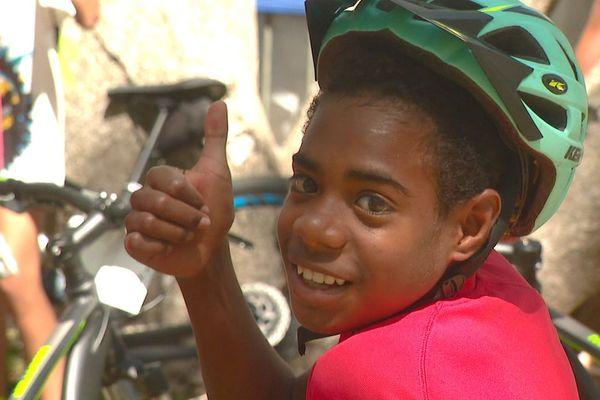Cycliste de la Mégarando 2020