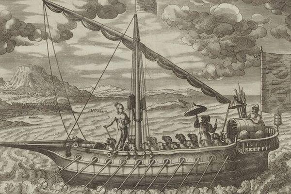 Navire hollandais XVIème siècle