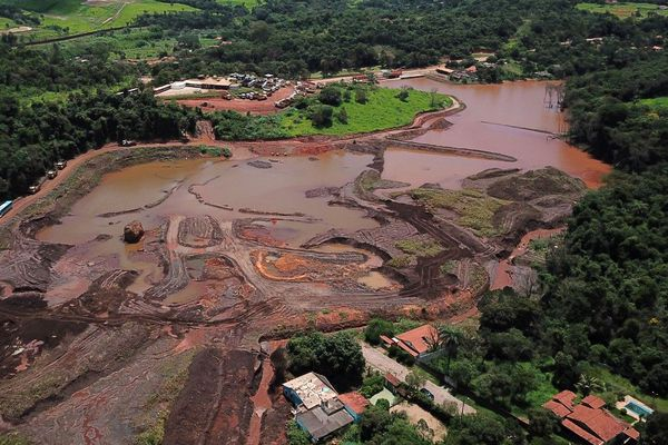 barrage de Brumadinho Bresil