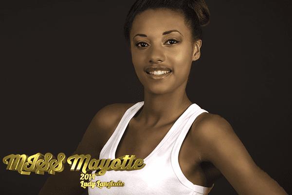 Ludy Langlade, miss Mayotte