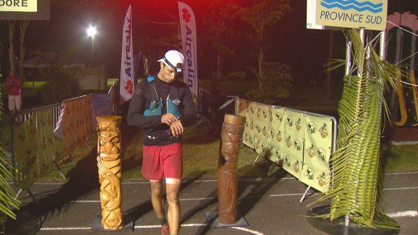 Thomas Lubin gagne l'Utra-trail Nouvelle-Calédonie