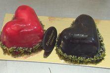 Des coeurs glacés pour fondre d'amour pour la Saint-Valentin.