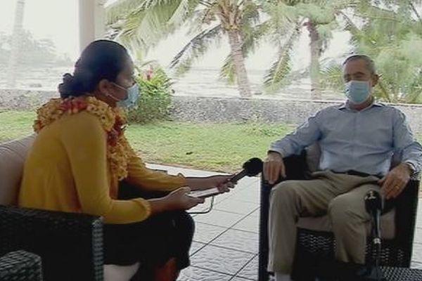 entretien Préfet Hervé Jonathan à Futuna