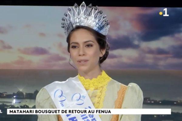 """Miss Tahiti : """"J'étais super fière"""""""