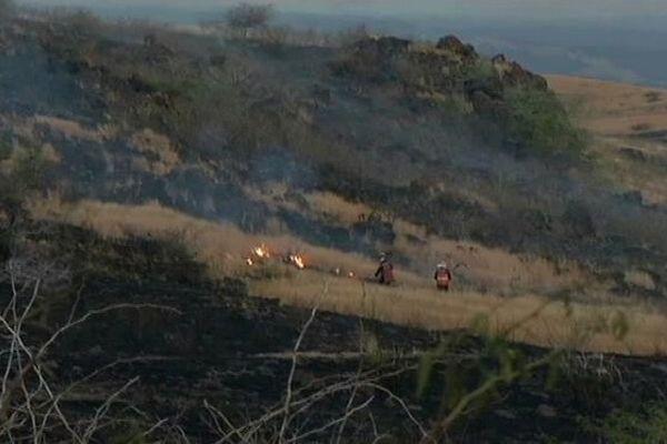 Incendie Cap Lahoussaye