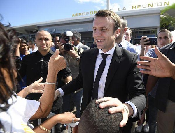 Macron Réunion