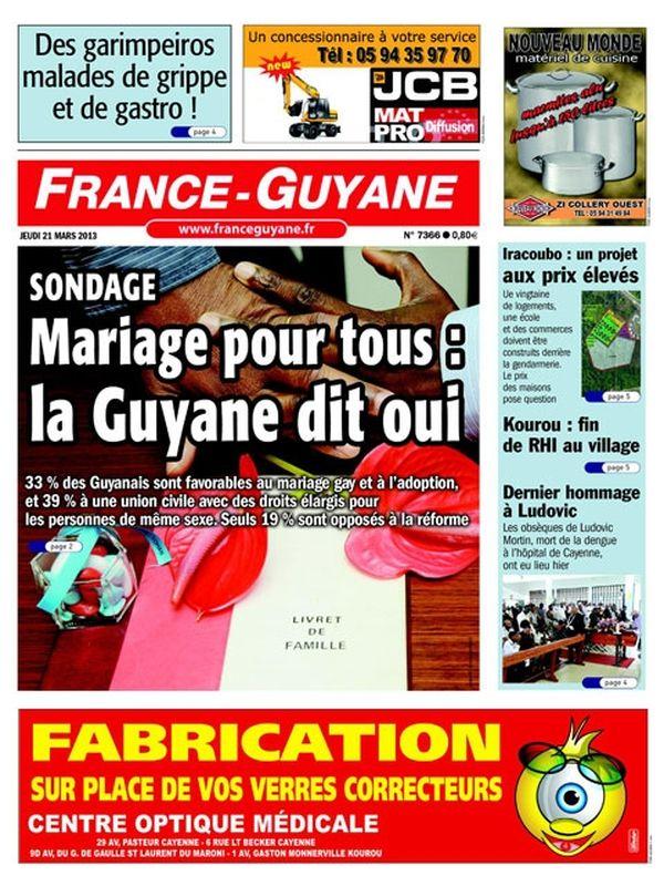 Une France Guyane 21 mars