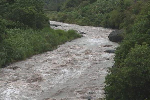Rivière crue