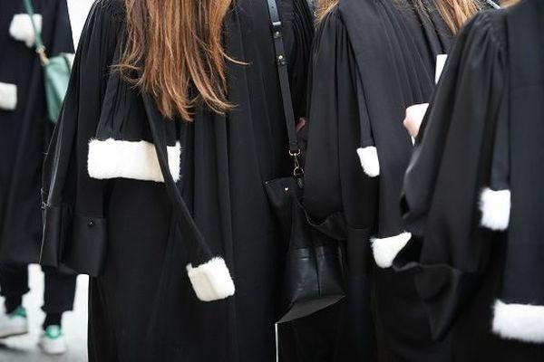 Les avocats en grève (photo d'illustration).