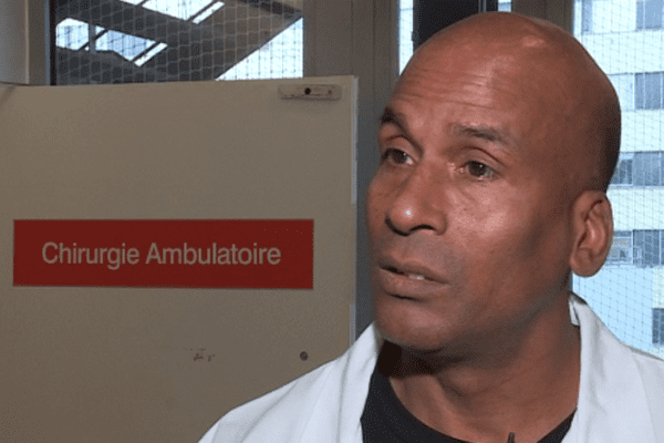 Alain Coat, aide soignant