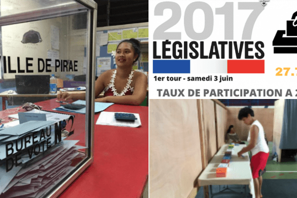 vote 1er tour législatives Polynésie