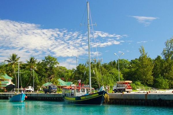 Ile de La Digue aux Seychelles