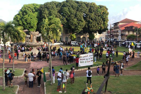 Caravane de la liberté devant la préfecture pour la réunion de la CIC du 16 septembre