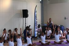 Dans le cadre de la journée Internationale du Yoga des cours sont proposés gratuitement à l'habitation Depaz à Saint-Pierre