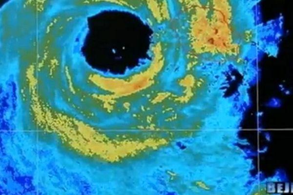 Image radar cyclone Bejisa