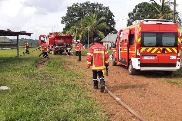 Pompiers à Saint-Georges