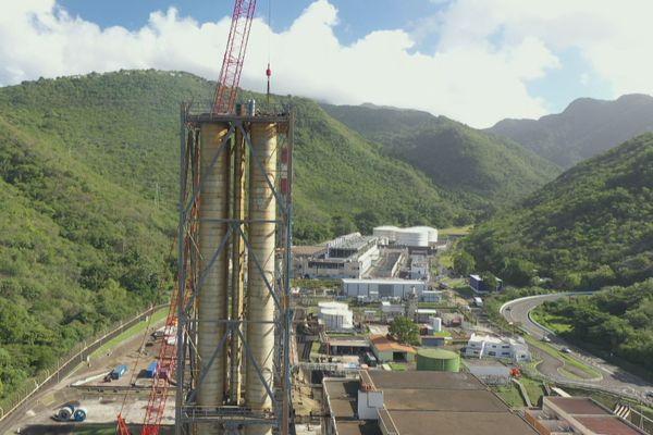 Le chantier de démolition de la centrale EDF de Bellefontaine