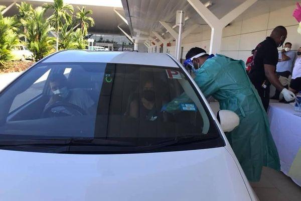 fidji coronavirus drive