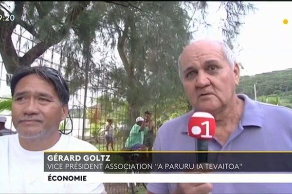Les opposants au projet de marina à Raiatea toujours actifs