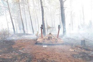 Le feu de l'île des Pins, samedi 30 novembre.