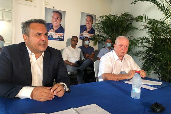 Régionales : Didier Robert rejoint par Michel Vergoz