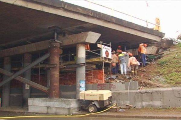 Pont SLN - travaux janvier 2016