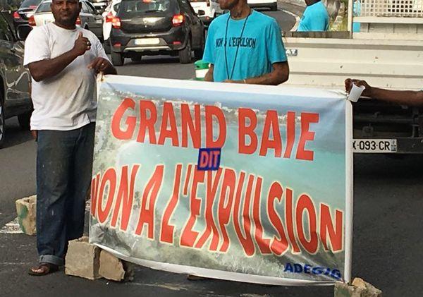 Mobilisation Grand-Baie
