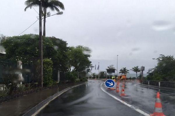 Route du littoral fermée janvier 2018