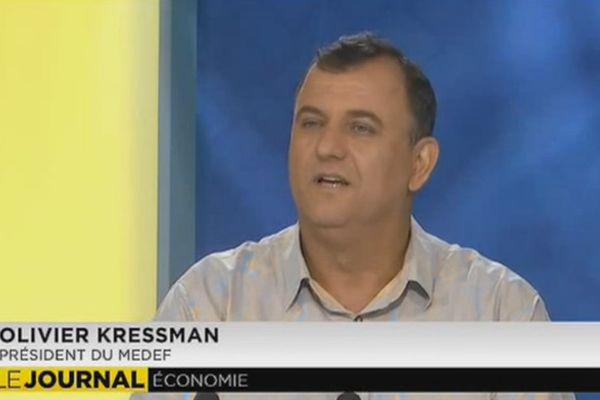 Olivier Kressman, reconduit à la tête du MEDEF - Polynésie 1ère
