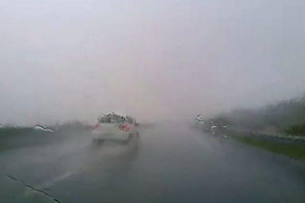 Forte pluie dans le Sud octobre 2017