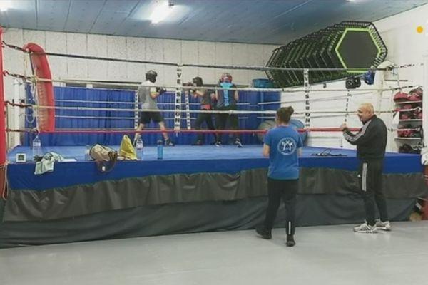 L'école de boxe olympique Saint-Pierraise