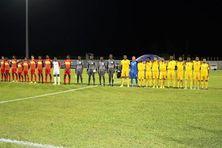 Les équipes de Guyane et de la Grenade