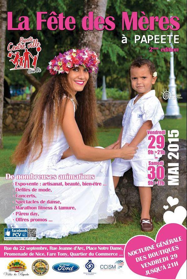 Papeete prépare la fête des mères