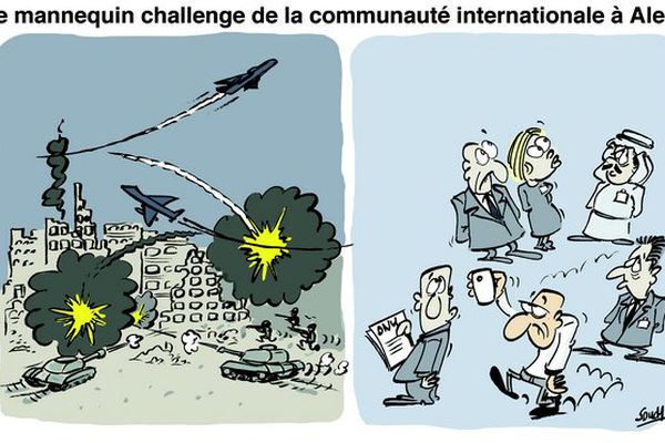 Souch sur communauté internationale à Alep