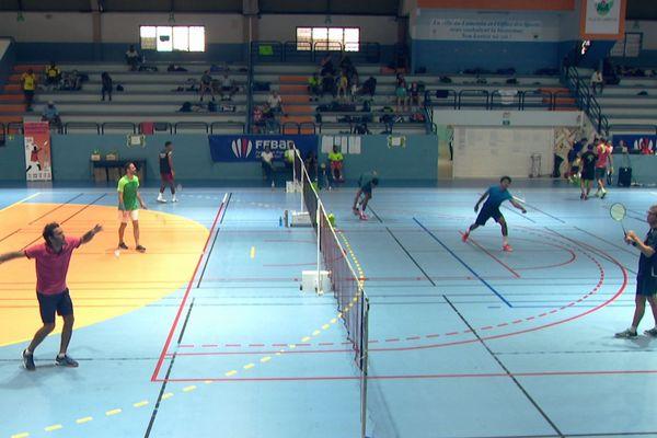 le 5ème Open de Martinique de badminton, au palais ds sports du Lamentin
