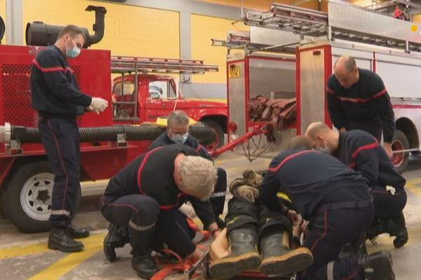 Les sapeurs-pompiers de Saint-Pierre se forment aux gestes et aux soins d'urgence