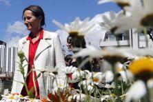 Ségolène Royal, le 22 mai 2014 à Paris pour la fête de la nature et de la biodiversité