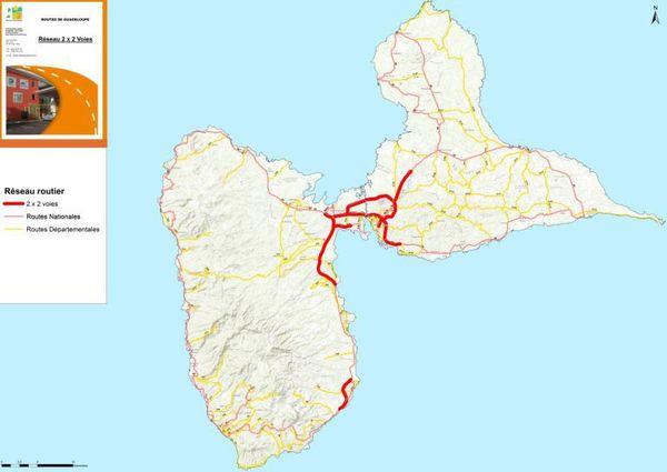 Routes non concernées par 80 km/h