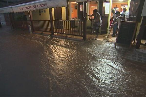 Inondation à Grand -Rivière