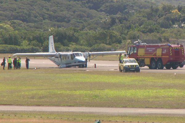 Incident avec un avion à Magenta, 17 août 2018