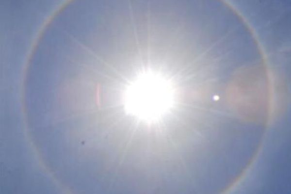 Halo solaire Guadeloupe 5 avril 2020