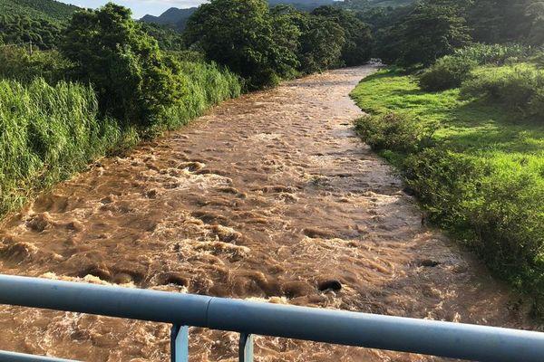 Rivière en crue