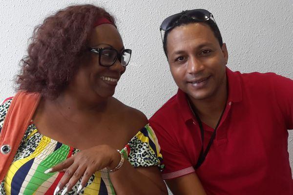 Viviane Emigré et Rudy Icaré