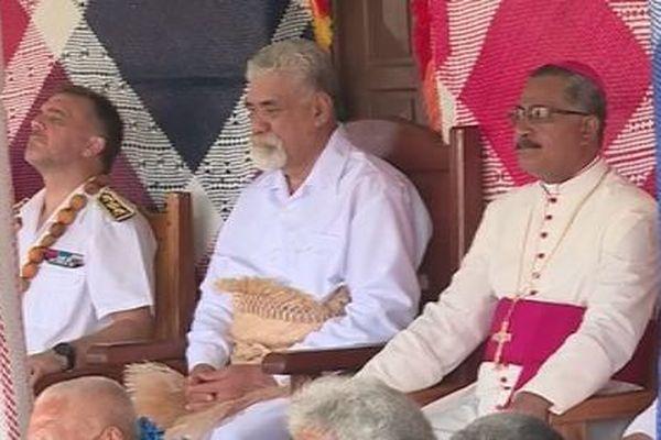 Un kava offert pour le nouvel évêque du diocèse de Wallis et Futuna