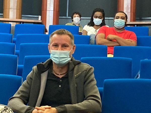 Florent Redor, professeur des écoles à Alexandrine Stanislas classe de CE 2